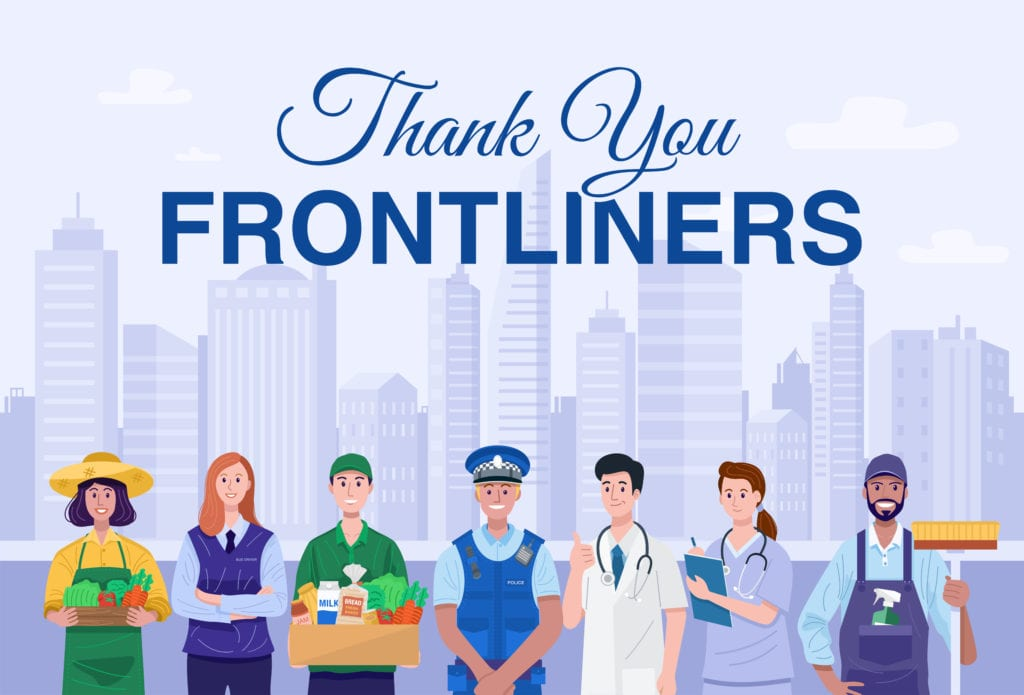 Thank you frontliners animation