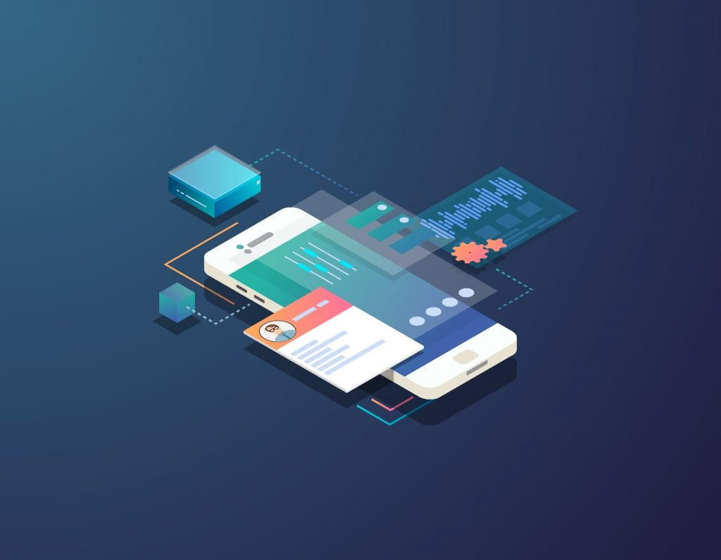 Mobile development with mobile friendly theme