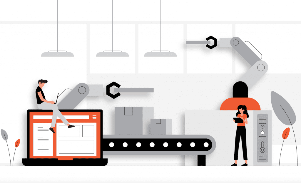 SEM PPC campaign automation illustration