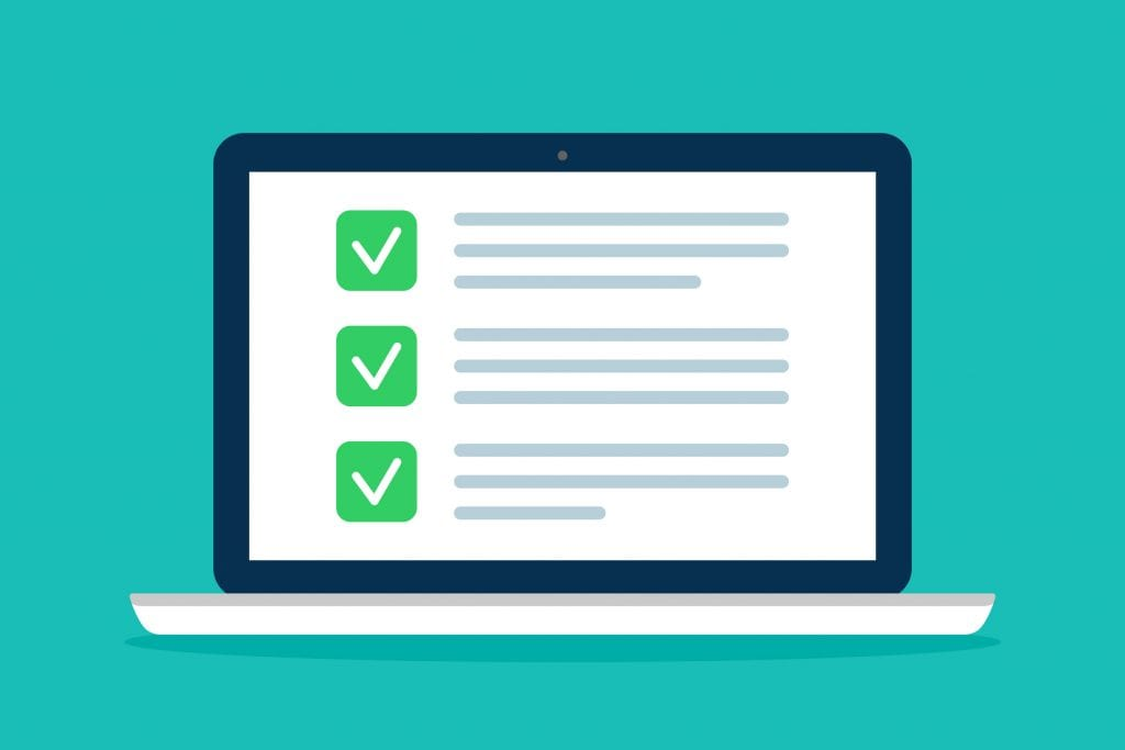 Website accessibility checklist